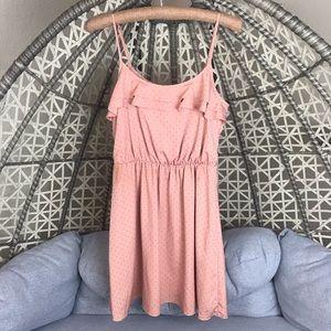 Lauren Conrad Mini Dress - Peachy Pink